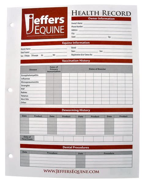 health record template printable pet vaccination record forms breeds picture