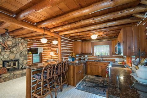 log home builder design build draper construction