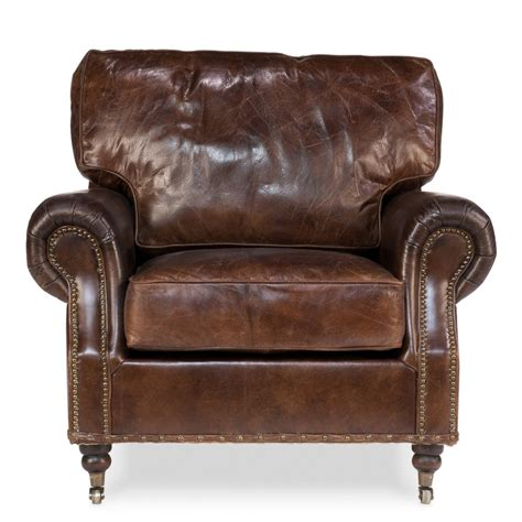 Vintage loft genuine leather club casters chesterfield chair buy chesterfield chair vintage