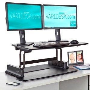 Pin By Lori Mcdaniel On Office Pinterest Standing Desk On Top Of Regular Desk
