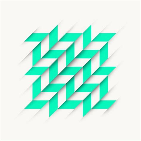 form design patterns graphic designer uses simple lines geometric shapes to