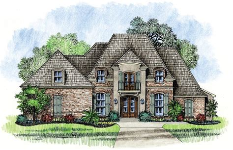 French Country Cottage Plans by Lafayette Country French House Plan Designs Louisiana