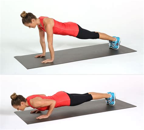 Push Up 8 how to do triceps push ups popsugar fitness