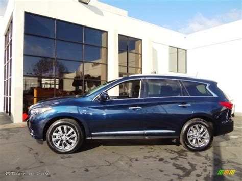 infinity car blue 2015 hermosa blue infiniti qx60 3 5 awd 109665618 photo