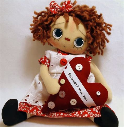 Raggedy Dolls Handmade - handmade teddy bears and raggedies april 2011