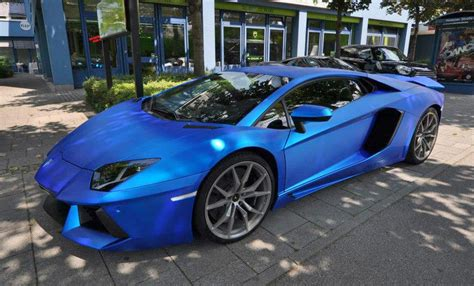 lamborghini aventador chrome blue lamborghini aventador wrapped in blue chrome brushed