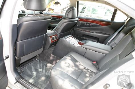 Lexus Ls 460 Reclining Back Seat by 001 Demonstrates The Rear Reclining Seat With