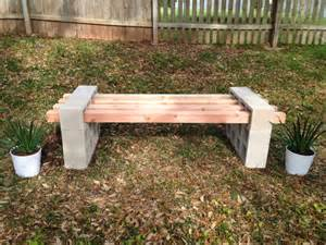 17 awesome diy outdoor bench ideas