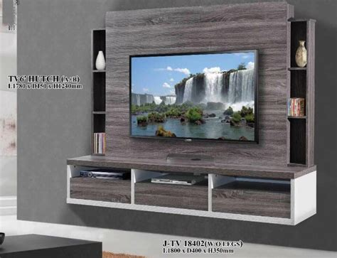 tv console tv feature wall unit built  cabinet