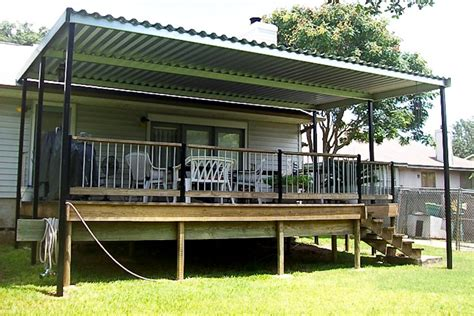 metal deck awnings metal patio covers metalink austin tx
