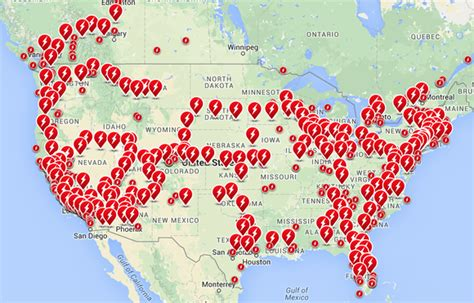 Tesla Charger Map Elon Musk Charging Locations To Be Virtually Everywhere