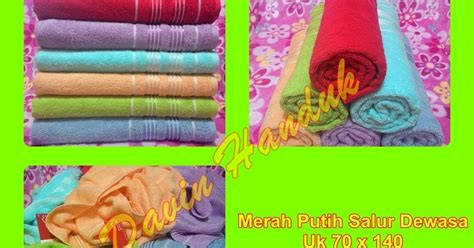 Terbaru Handuk Towel Kimono handuk harga pabrik davin handuk handuk chalmer handuk merah putih