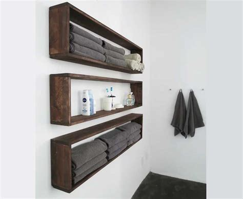 Wall Mounted Bathroom Shelving Units Home Design Wall Mounted Bathroom Shelving Units