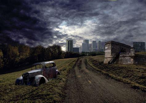 urban wasteland photo manipulation photo editing