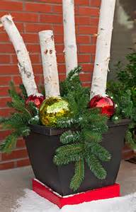 christmas planter ideas