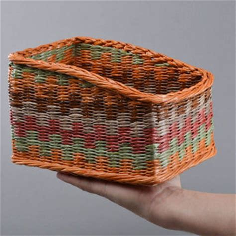 Handmade Decorative Baskets - best colorful woven baskets products on wanelo
