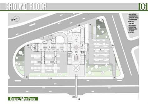 bus terminal floor plan design presidents medals sidon bus terminal bus station