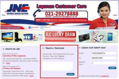cara cek resi di website jne cara mengirim dokumen surat surat melalui jne aditya web com