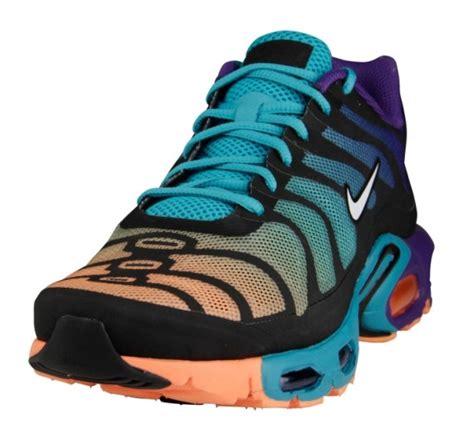 Nike Airmax Biru Aqua Made In nike air max plus multi color gradient sole collector