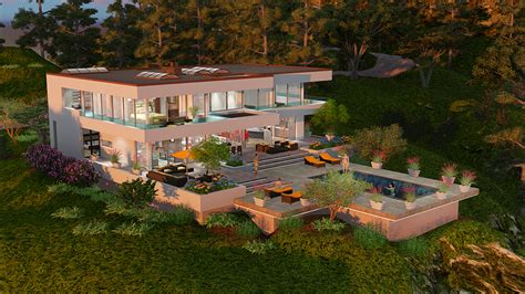 Open Floor Plans New Homes by The Beverly Hills Dream House Project Maintains The