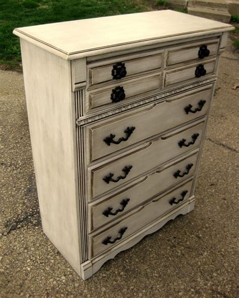 White Refinished Dresser by Refinished Dresser Has Diy Furniture Fixer