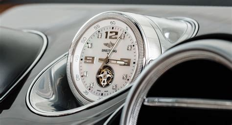 bentley breitling clock bentley bentayga s optional mulliner tourbillon by