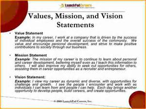how to write a personal mission statement examples
