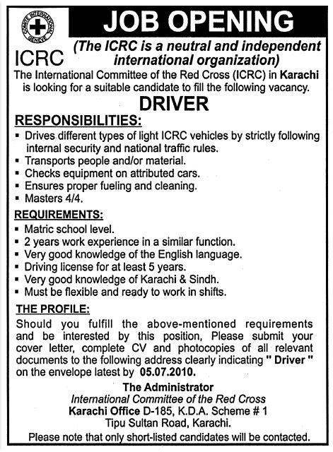 Icrc Detox by Icrc Pakistan Opportunities Karachi