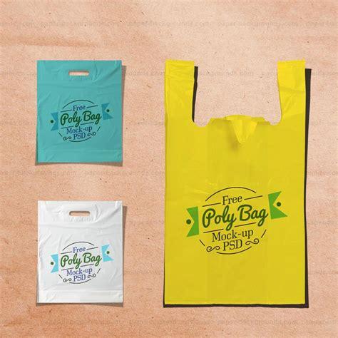 download plastic poly bag mockup free psd free psd at