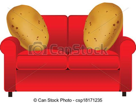 couch potato icon vectors of couch potatoes csp18171235 search clip art