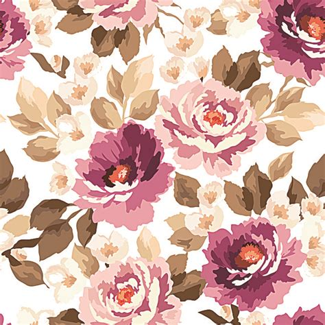watercolor pattern with purple flowers vector free download purple watercolor floral seamless background material