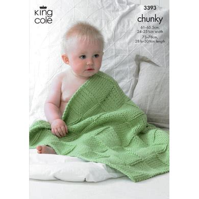 king cole comfort babies blankets in king cole comfort chunky 3393