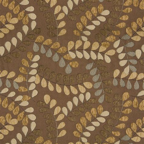 upholstery fabric leaves brown and grey textured leaves matelasse upholstery fabric