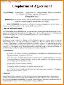 9 Self Employment Contract Template Hr Cover Letter