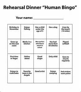 Breaker Bingo Template by 16 Best Images Of Getting To You Worksheet