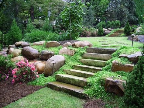 terracing a sloped backyard hillside landscaping ideas for a sloped backyard