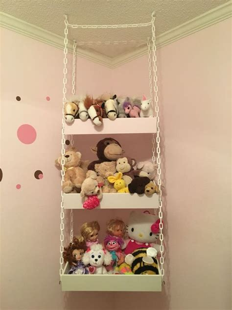 Planters That Hang On The Wall by 26 Comfy Stuffed Toys Storage Ideas Shelterness
