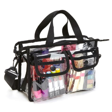 Cosmetic Travel Bag Organizer Tas Pouch Kosmetik Hello Ori seya pvc clear plastic makeup artist set bag cosmetic
