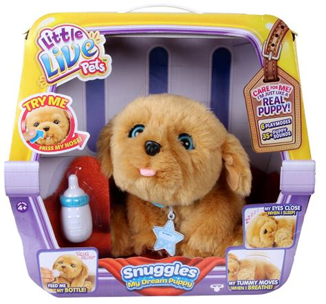 snuggles my puppy live pets snuggles my puppy playset 49 99 thrifty nw