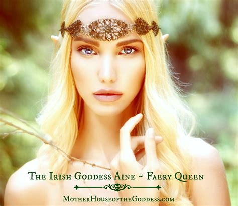 Goddess Of the goddess aine faery portal page more resources