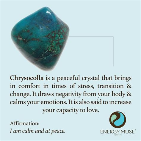 Change Your Probably With An Energy Muse Necklace by Chrysocolla Discover The Chrysocolla Meaning