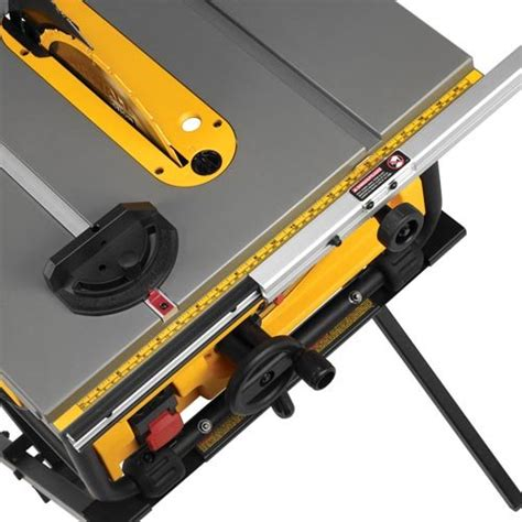 dewalt dwe780 compact table saw dewalt dwe7480xa 10 inch compact job site table saw with