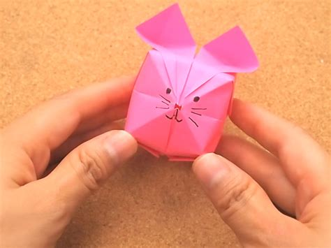 How To Make Paper Rabbit - how to make a origami rabbit with pictures wikihow