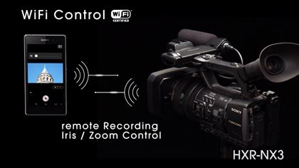 Kamera Sony Nx3 sony hxr nx3 profesyonel kamera