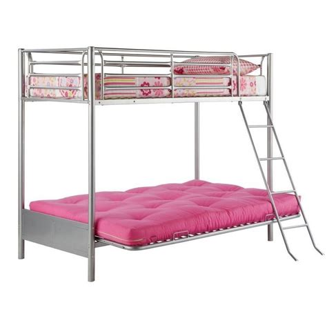 double metal futon sofa bed single bunk bed with futon sofa bed double view metal