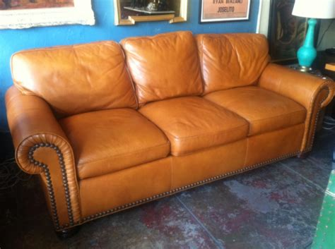 Butterscotch Leather Sofa 1 Butterscotch Leather Sofa 4 Different Ways Casa Vintage Furniture Los Angeles
