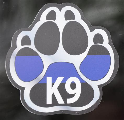 Mahlkonig Logo Sticker Small White On 2 Units k9 stickers car decals allk9stuff