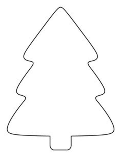 printable large christmas tree pattern use the pattern