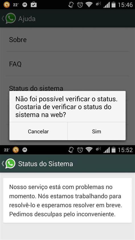 imagenes para whatsapp em portugues whatsapp fica fora do ar para alguns usu 225 rios e atrasa