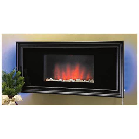 wall mount electric fireplace 232507 fireplaces at